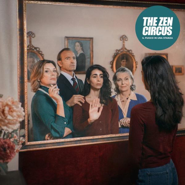The Zen Circus copertina di Il fuoco in una stanza