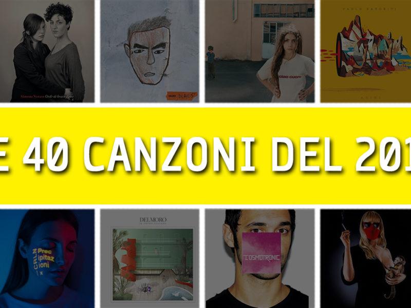 migliori canzoni italiane 2018