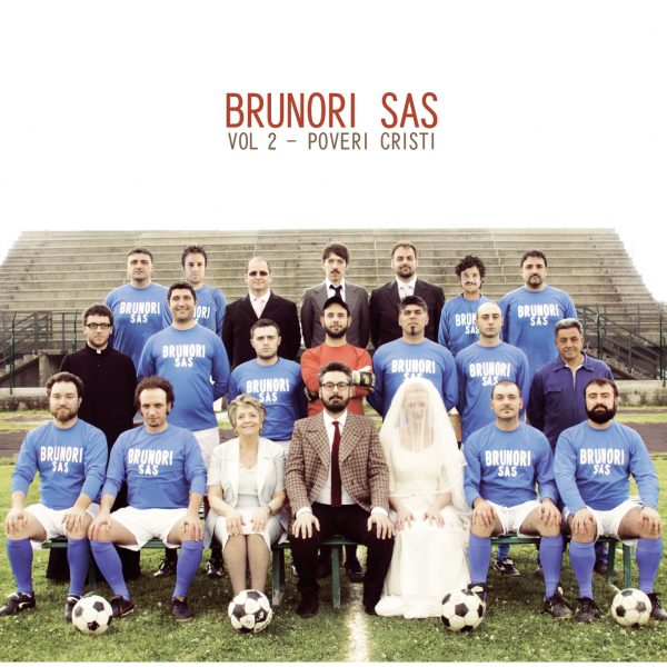 Brunori Sas, Vol. 2 - Poveri Christi, cover dell'album