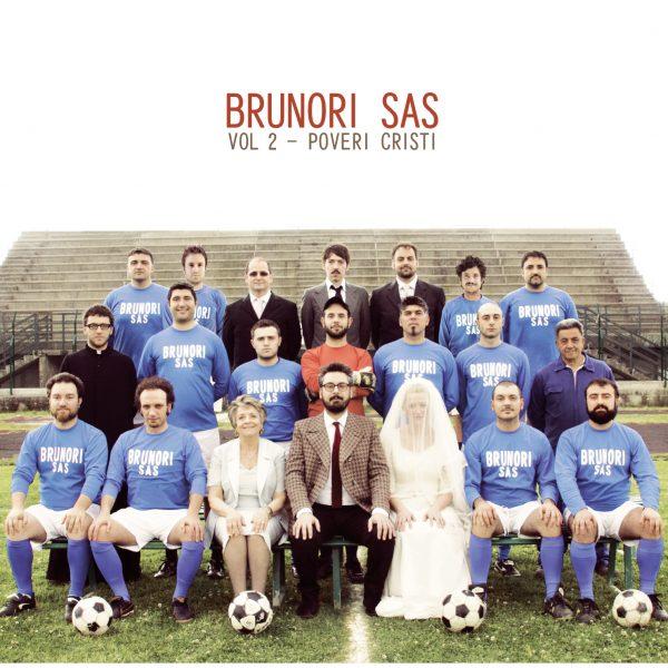Brunori Sas, Vol. 2 - Poveri Christi, cover dell'album